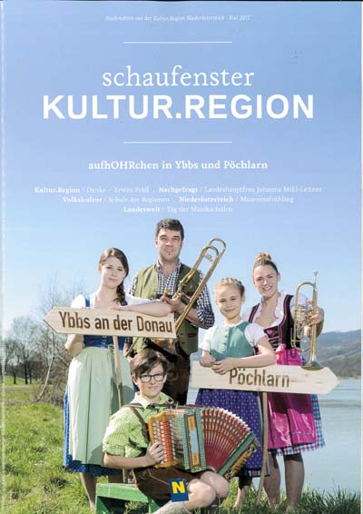 Schaufenster Kultur.Region Mai 2017